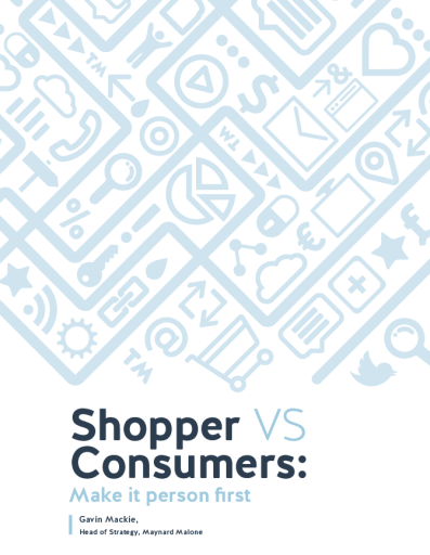 Shoppers vs Consumers